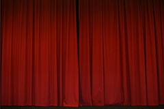 Equivocal, Red Theater Curtains