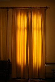 Yellow Curtain 1