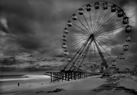 The Funtown Pier, Post Hurricane Sandy (from the Afterlife Series)