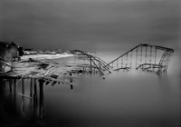 The Casino Pier, Post Hurricane Sandy (from the Afterlife Series)