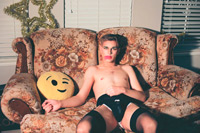 Dallas With Emoji Pillow