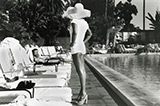 Woman by Pool, Beverly Hills, California