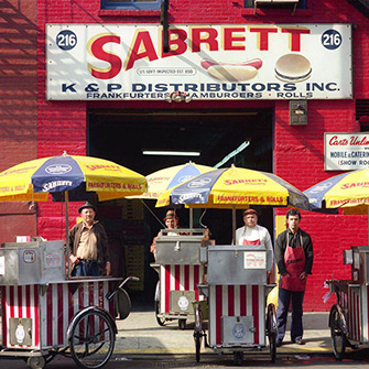 Sabrett Hot Dog Vendors