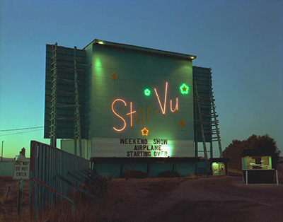 Star-Vu Drive-In Theater, Longmont, Colorado; July