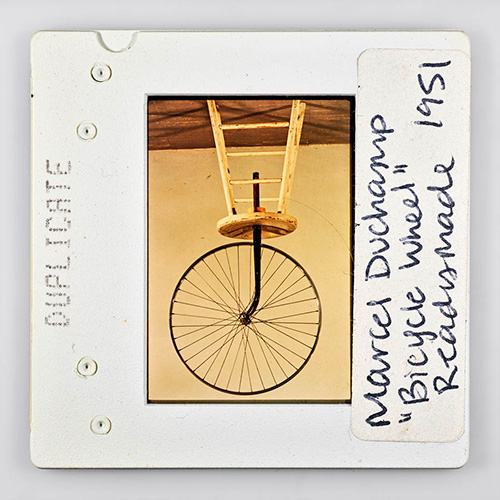 Duplicate_Marcel_Duchamp_Bicycle_Wheel_Readymade_1951