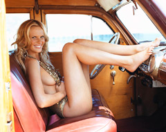 Anne Vyalitsyna, Sports Illustrated California Dream
